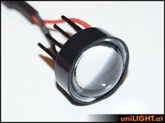 Picture of 8W Eco-Spotlight, convex 60°, 25mm, T-Fuse